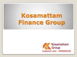 Gold Loan India - Kosamattam Finance