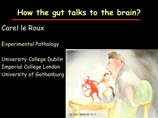 How the gut talks to the brain?