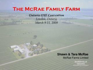 The McRae Family Farm