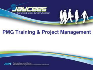 PMG Training & Project Management