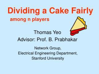 Dividing a Cake Fairly