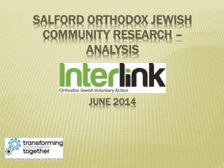 Salford Orthodox Jewish Community Research – Analysis June 2014