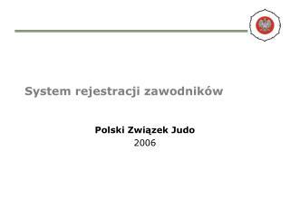 System rejestracji zawodników