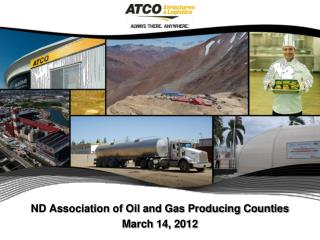 ND Association of Oil and Gas Producing Counties March 14, 2012