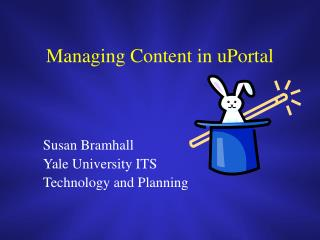 Managing Content in uPortal