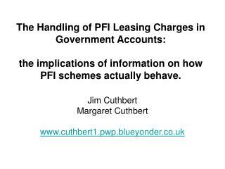 Jim Cuthbert Margaret Cuthbert cuthbert1.pwp.blueyonder.co.uk