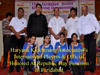 National Kickboxing Championship 2014 upcoming at Faridabad
