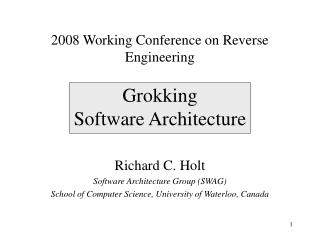 Grokking  Software Architecture