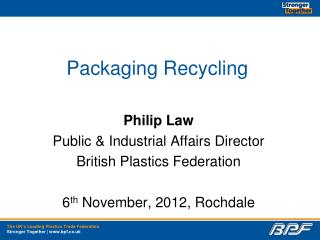 Packaging Recycling