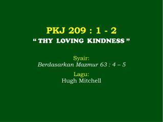PKJ 209  : 1 - 2