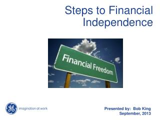 Steps to Financial Independence