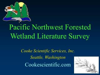 Pacific Northwest Forested Wetland Literature Survey
