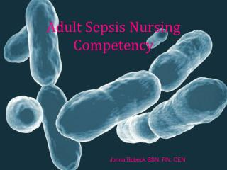 Adult Sepsis Nursing Competency