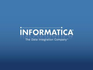 Informatica Application ILM Streamline & Secure Nonproduction Mainframe Environments