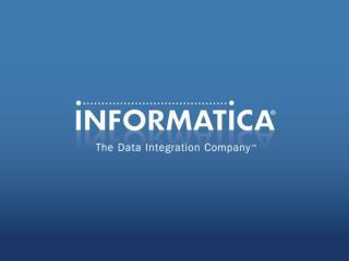 Informatica Application ILM Streamline & SecureNonproduction Mainframe Environments