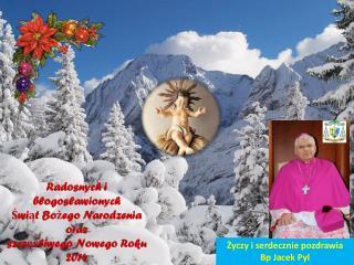 Radosnych i błogosławionych  Świąt Bożego Narodzenia oraz s zczęśliwego Nowego Roku 2014