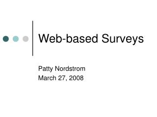 Web-based Surveys