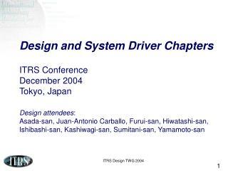 2005 Focus Items � Tokyo