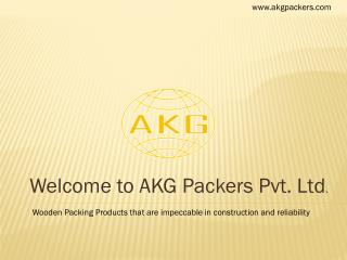 Welcome to AKG Packers Pvt. Ltd .
