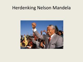 Herdenking Nelson Mandela
