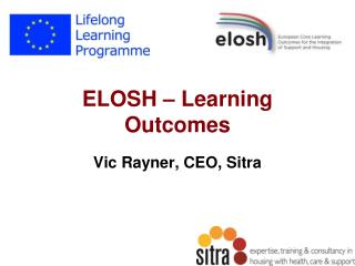 ELOSH – Learning Outcomes