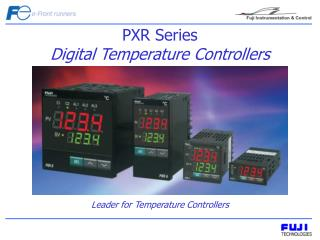 PXR Series  Digital Temperature Controllers
