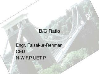 B/C Ratio