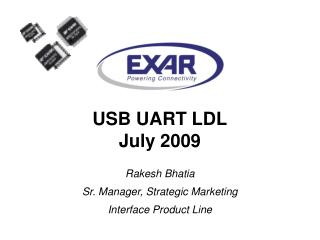 USB UART LDL July 2009