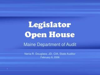 Legislator Open House