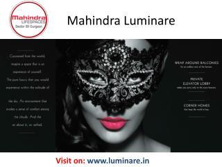 Mahindra Luminare Sector 59
