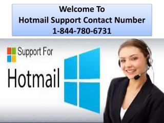 Hotmail Support Contact Number 1-844-780-6731