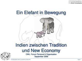 Ein Elefant in Bewegung Indien zwischen Tradition und New Economy