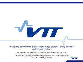 Analyzing performance of concurrent usage scenarios using software architecture analysis