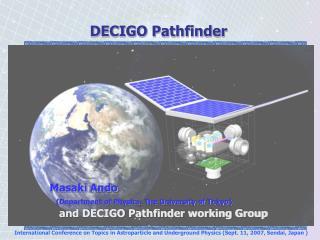 DECIGO Pathfinder