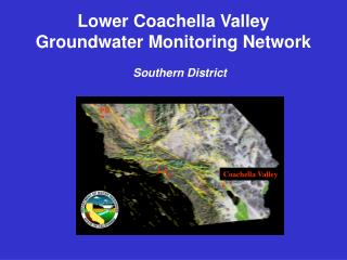 Lower Coachella Valley Groundwater Monitoring Network Southern District