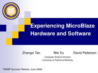 Experiencing MicroBlaze Hardware and Software