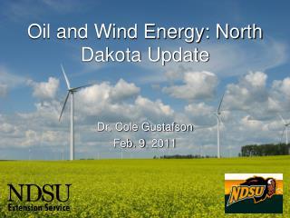 Oil and Wind Energy: North Dakota Update