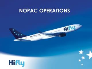 NOPAC OPERATIONS