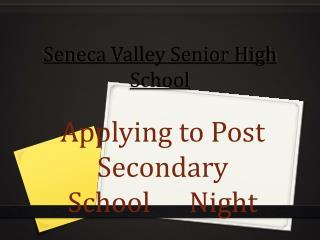 Seneca Valley Senior High School