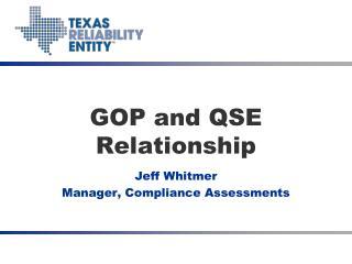 GOP and QSE Relationship