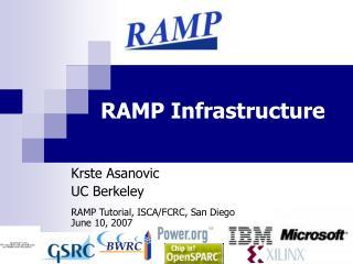RAMP Infrastructure