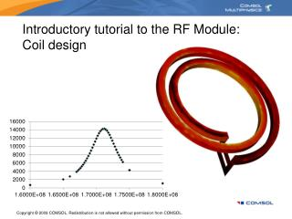 Introductory tutorial to the RF Module: Coil design