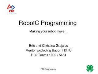 RobotC Programming