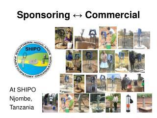 Sponsoring  ↔  Commercial