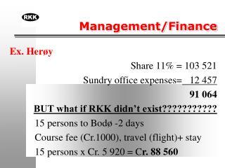 Management/Finance