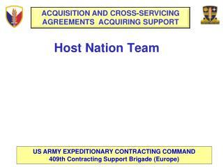 Host Nation Team