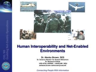 Human Interoperability and Net-Enabled Environments