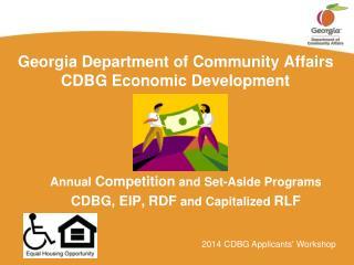 ppt department of community affairs cdbg economic development powerpoint presentation