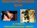 PSZICHOPEDAG GIA SZAK