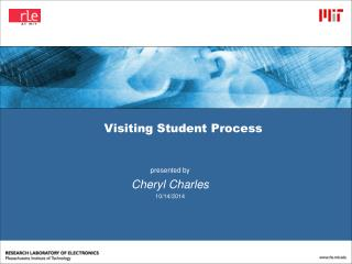 Visiting Student Process